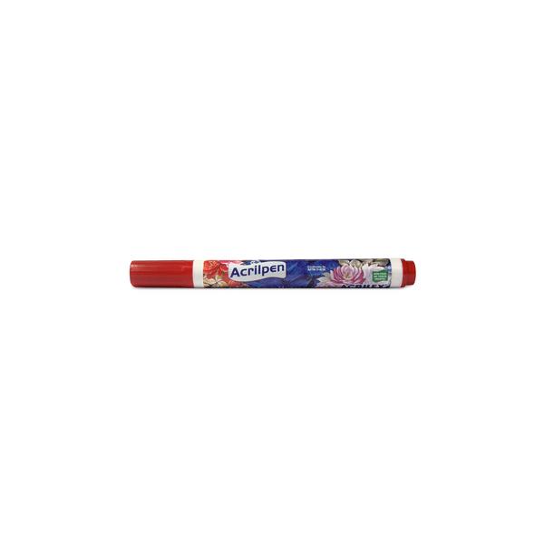 Caneta-para-Tecido-Acrilpen-Vermelho-Fogo