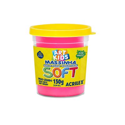 Massa-Modelar-Acrilex-Soft-Potinho-Base-de-Amido-Rosa-150g