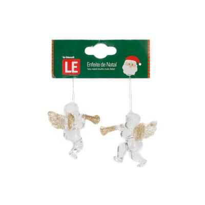 Enfeite-para-Arvore-de-Natal-Le-Anjo-Acrilico-com-2-Unidades