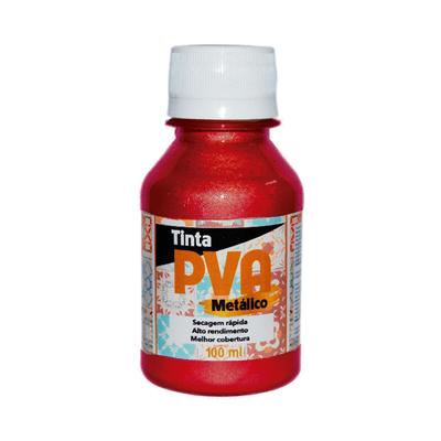 Tinta-Pva-Glitter-Metalica-com-100ml-Vermelho