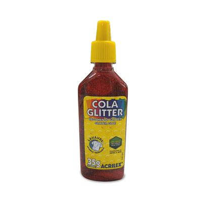 Cola-Acrilex-Gliter-Vermelha-35g