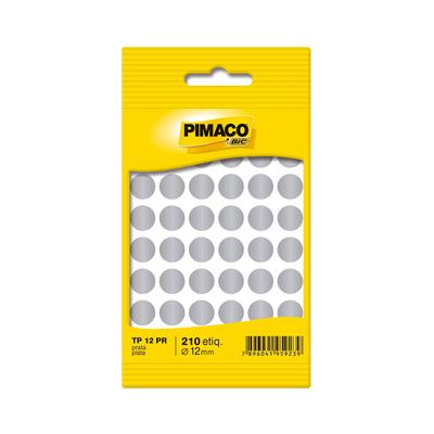 Etiqueta-Adesiva-Pimaco-Circular-TP-12-Prata-com-350-Unidades