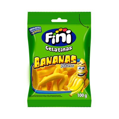 Bala-Gelatina-Bananas-Fini-100g