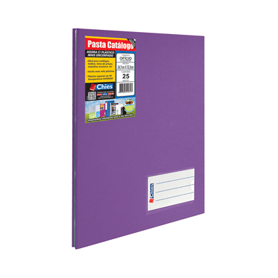 Pasta-Catalogo-Chies-com-Parafusos-e-25-Envelopes-Violeta-247x33cm