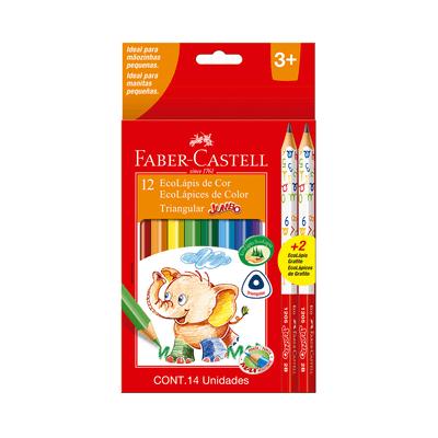 Lapis-de-Cor-Faber-Castell-Jumbo-12-Cores-e-2-Lapis-Grafites