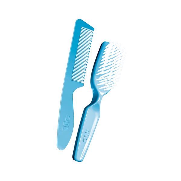Conjunto-Pente-e-Escova-para-Cabelo-Lillo-Azul