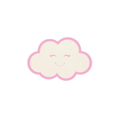 Aplique-Decorativo-Duplart-Nuvem-Mini-com-6-Unidades-Rosa
