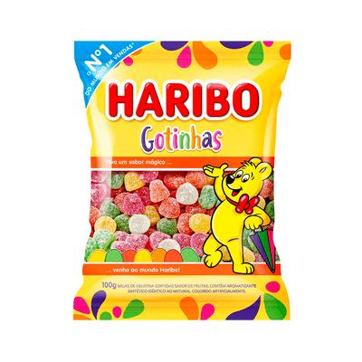 Bala-Gelatina-Gotinha-Haribo-100g