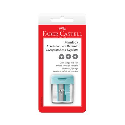 Apontador-Faber-Castell-Deposito-Minibox-Tons-Pasteis-com-Tampa-Flip-Top-Cores-Diversas