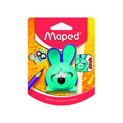 Apontador-Maped-com-Deposito-Croc-Croc-Coelho-1-Furo-Cores-Diversas