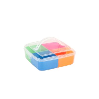 Marmita-Le-Rainbow-Quadrada-com-4-Divisorias