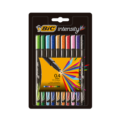 Caneta-Hidrografica-Bic-Intensity-0.4mm-Colors-com-10-Unidades