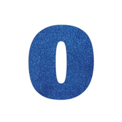 Placa-Duplart-Eva-12cm-Azul-Letra-O