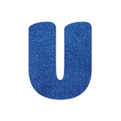 Placa-Duplart-Eva-12cm-Azul-Letra-U
