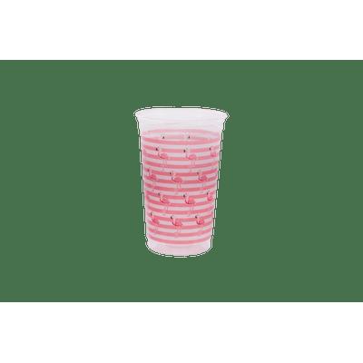Copo-Prafesta-Mania-300ml-com-30-Unidades-Flamingo