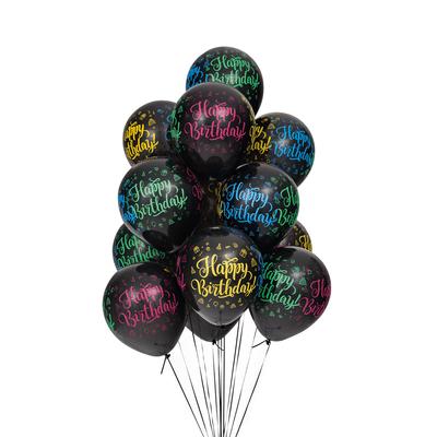 Balao-Pic-Pic-Nº10-com-25-Unidades-Happy-Birthday