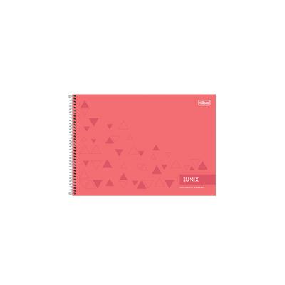Caderno-Cartografia-Tilibra-Capa-Dura-Lunix-60-Folhas-Capas-Diversas