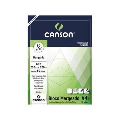 Bloco-Layout-Canson-A4-Margeado-Branco-90g-com-50-Folhas