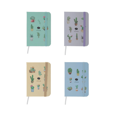 Caderneta-Le-com-Pauta-Brochura-Capa-Dura-Cacto-160-Folhas-75x105cm-Cores-Diversas