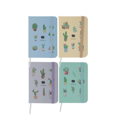 Caderneta-Le-com-Pauta-Brochura-Capa-Dura-Cacto-192-Folhas-9x14cm-Cores-Diversas