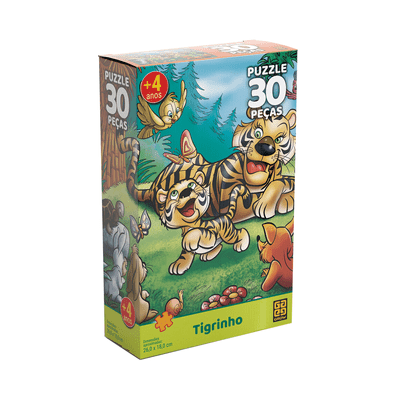 Quebra-Cabeca-Grow-Tigrinho-com-30-Pecas