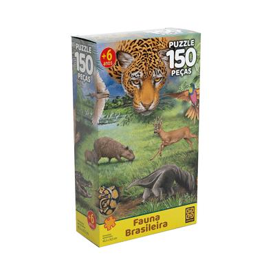 Quebra-Cabeca-Grow-Fauna-Brasileira-com-150-Pecas