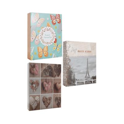 Album-de-Fotos-Le-10x15-200-Folhas-Capa-Estampas-Diversas-18x23x45cm
