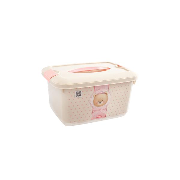 Organizador-Plasutil-Plastico-Infantil-Ursa-com-Alca-e-Trava-52l