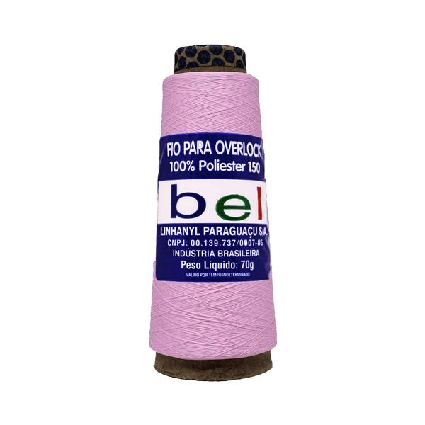 Fio-para-Overlock-70g-com-3700m-1633-Rosa-Bebe