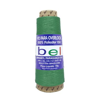 Fio-para-Overlock-70g-com-3700m-9508-Verde-Bandeira