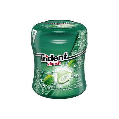 Goma-Mascar-Trident-Garrafa-Mint-56g