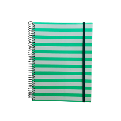 Caderno-Universitario-Confetti-Espiral-Capa-Plastica-Le-Trend-10-Materias-Cores-Diversas