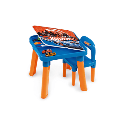 Mesa-Fun-Hot-Wheels-com-Cadeira