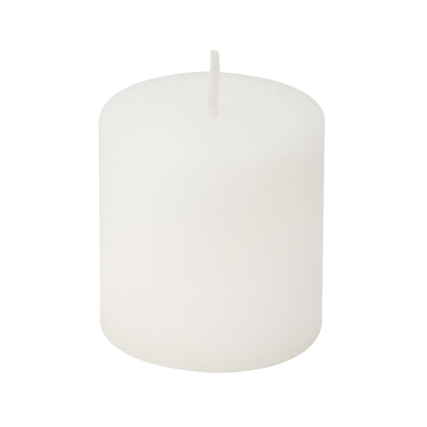 Vela-Le-Home-Cilindrica-Branca-5cm
