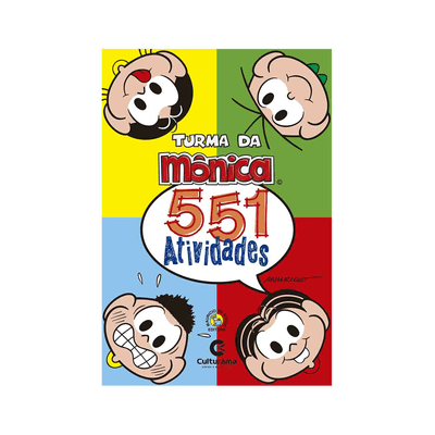 Livro-Infantil-Culturama-551-Atividades-Turma-da-Monica
