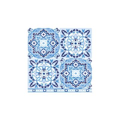 Guardanapo-para-Decoupage-com-2-Unidades-Estampa-Azulejo