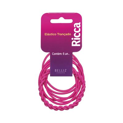 Elastico-para-Cabelo-Ricca-Trancado-Rosa-2mm