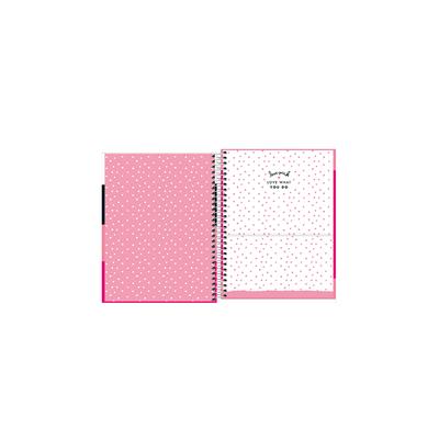 Agenda-Planner-Tilibra-Espiral-Love-Pink-Capas-Diversas