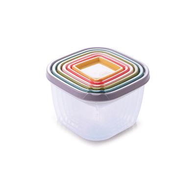 Conjunto-de-Potes-Plasutil-Conect-Quadrado-com-6-Pecas