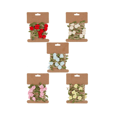 Fio-de-Juta-Le-Natural-com-Flores-1m-Cores-Diversas