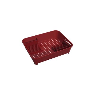 Escorredor-de-Pratos-Coza-Vermelho