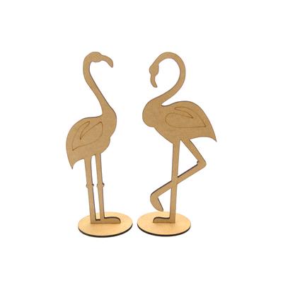 Flamingo-Mdf-30cm-com-Base-com-2-Unidades