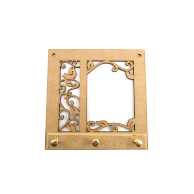 Porta-Chaves-Mdf-Passaros-16x16cm