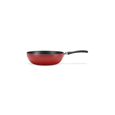Panela-Wok-Brinox-Antiaderente-Vermelha-24cm-23l