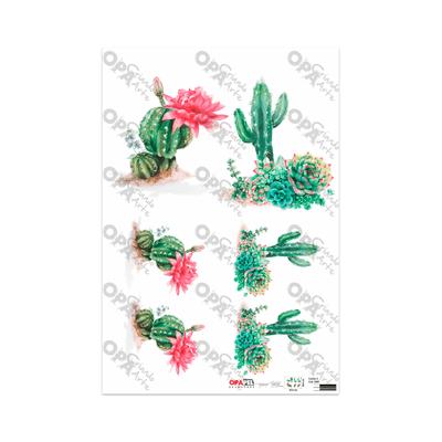 Papel-para-Decoupage-Opa-30x45-Plantas-e-Cactos-II