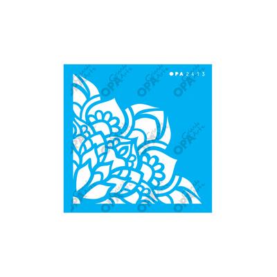 Stencil-Opa-10x10-Cantoneira-Flores-Lotus-2413