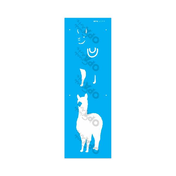 Stencil-Opa-10x30-Animais-Lhama-I-2599
