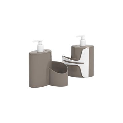 Dispenser-Brinox-Coza-Abraco-600ml-Cinza