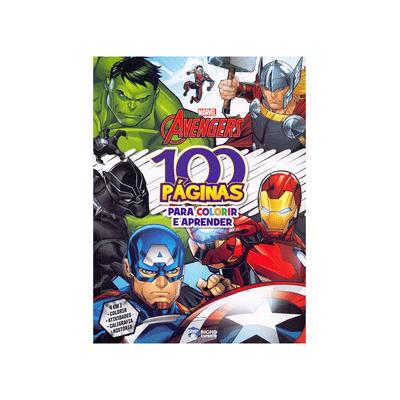 Livro-Infantil-Bicho-Esperto-Atividades-para-Colorir-Avengers-100-Paginas
