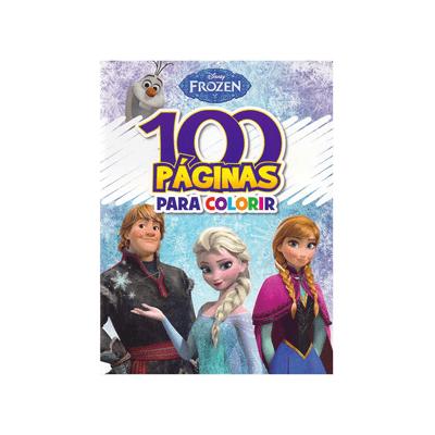 Livro-Infantil-Bicho-Esperto-Atividades-para-Colorir-Frozen-100-Paginas
